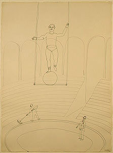 Alexander Calder: Circus Drawings, Wire Sculpture and Toys