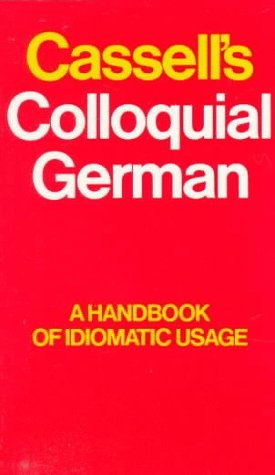 Cassell's Colloquial German by Beatrix Anderson