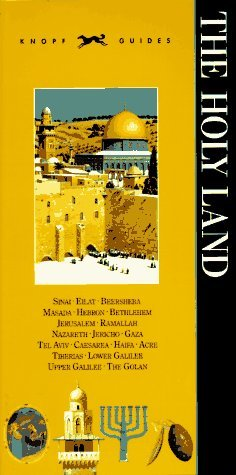 Knopf Guide to The Holy Land by Alfred A. Knopf Publishing ...