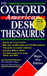 The Oxford American Desk Thesaurus