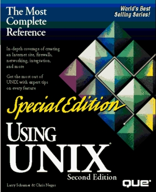 Using Unix/Special Edition by Larry Schumer