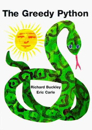 The Greedy Python by Richard Buckley