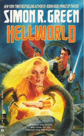 Hellworld (Twilight of the Empire, #3) by Simon R. Green