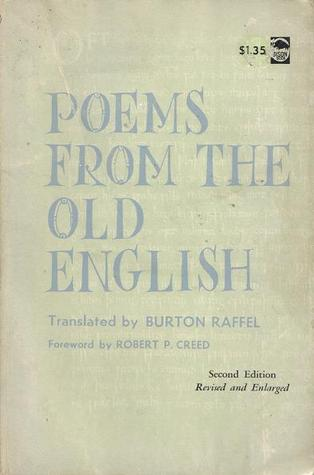Poems from the Old English by Burton Raffel