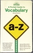 A Pocket Guide to Vocabulary by Samuel C. Brownstein