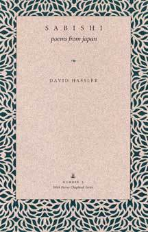 Download free Sabishi: Poems from Japan (Wick Poetry Chapbook Series One #3) by David Hassler PDB