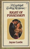 Right of Possession (Candlelight Ecstasy, #23)