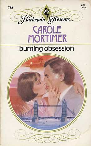 Burning Obsession by Carole Mortimer