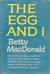 The Egg and I (Hardcover)