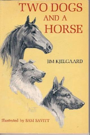 Two Dogs and a Horse