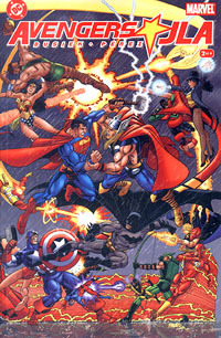 Avengers/JLA #2 by Kurt Busiek
