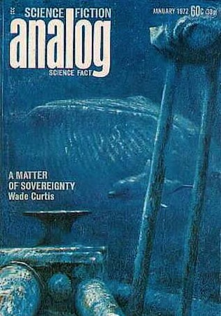 Analog Science Fiction and Fact, 1972 January by Ben Bova