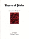 Theory of Tables