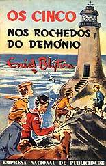 Os Cinco nos Rochedos do Demónio by Enid Blyton