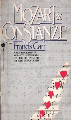 Mozart and Costanze by Francis Carr