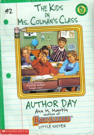 The Kids in Ms. Colman's Class Lot Of 9 Ann M Martin Baby-Sitter's Club