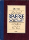 Illustrated reverse dictionary