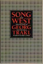 Song of the West by Georg Trakl
