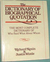 The Dictionary of Biographical Quotation of British and Ameri... by Richard Kenin