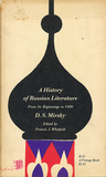 A History of Russian Literature by D.S. Mirsky