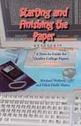 Starting and Finishing the Paper by Michael    Walters