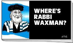 Where's Rabbi Waxman? by Jack T. Chick