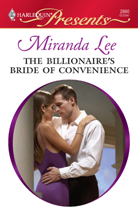 The Billionaire's Bride of Convenience (Three Rich Husbands #2) by Miranda Lee