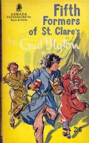 Fifth Formers of St. Clare's (St. Clare's, #8)