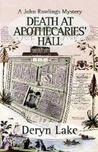 Death at Apothecaries' Hall (John Rawlings, #6)