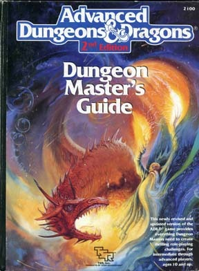 Dungeon Master's Guide by David Zeb Cook