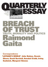 Breach of Trust: Truth, Morality and Politics