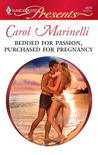 Bedded for Passion, Purchased for Pregnancy (Harlequin Presents , #2879)