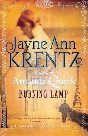 Burning Lamp by Amanda Quick