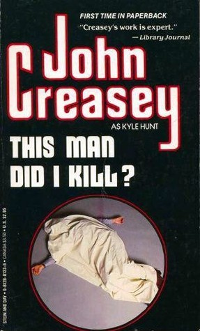 This Man Did I Kill? (Dr Emmanuel Cellini, #10)