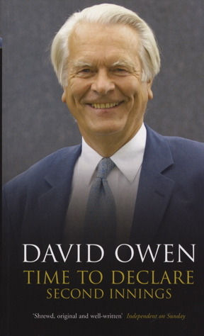 Time to Declare: Second Innings. David Owen