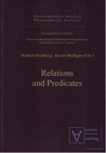 Relations and Predicates