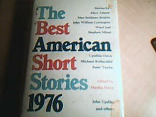 The Best American Short Stories 1976 by Martha Foley