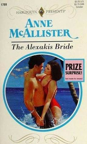 The Alexakis Bride by Anne McAllister