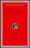 Title Institutio Oratoria of Quintilian/Books VII-IX by Marcus Fabius Quintilianus