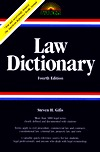 Law Dictionary by Steven H. Gifis