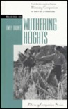 Readings on Wuthering Heights (Literary Companion Series)