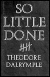 So Little Done: The Testament of a Serial Killer