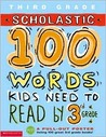 100 Words Kids Need to Read by 3rd Grade
