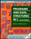 Programs and Data Structures in C by Leen Ammeraal
