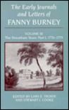 The Early Journals and Letters of Fanny Burney: Volume III: The Streatham Years: Part 1, 1778-1779