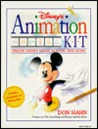 Disney's Animation Kit [With Two Flip Books and Peg Bar/Acetate Sheets/Disney Film Footage/& More and 2 Pencils, Colored M