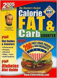 The Doctor's Pocket Calorie, Fat & Carb Counter by Allan Borushek