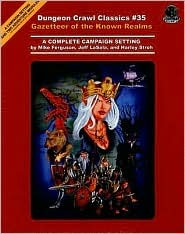 Dungeon Crawl Classics #35: Gazetteer of the Known Realm (Dungeon Crawl Classics)