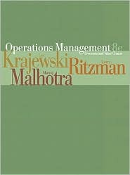 Operations Management: Process and Value Chains