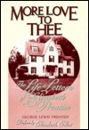 More Love to Thee by George Lewis Prentiss